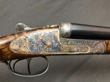 SALE PENDING !!! ARRIETA 20GA SIDELOCK ROUND BODY WITH BOSS STYLE ENGRAVING EXCELLENT! - 6 of 22