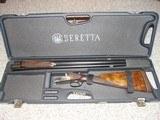 BERETTA Model 411E 12 GA. SxS ENGRAVED, CASED - 15 of 15