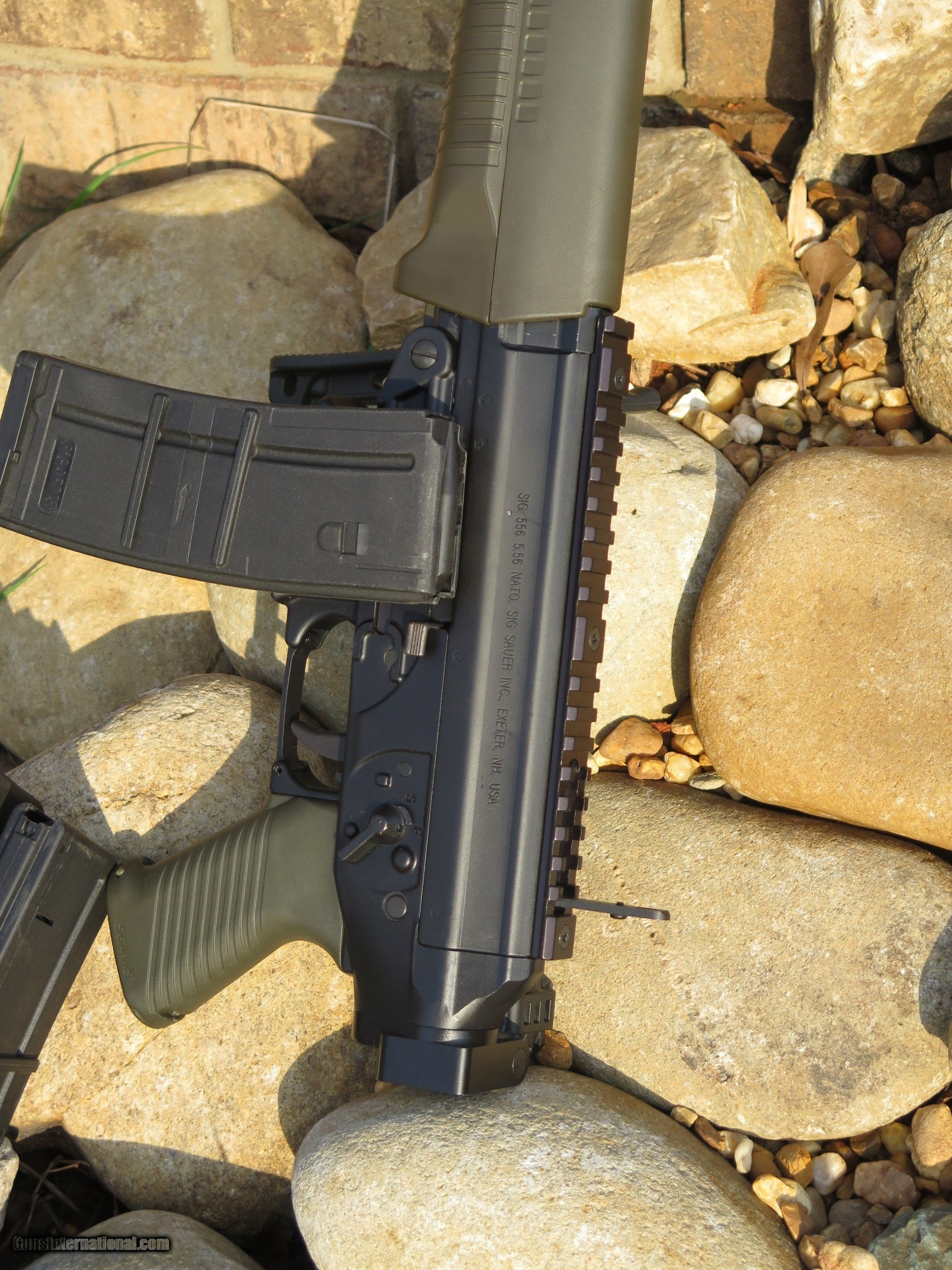 Limited Edition Sig Sauer 556 Commando W Folding Stock
