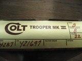 Colt Trooper 22. - 8 of 9