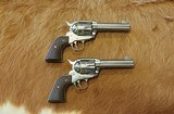 Ruger PAIR of Vaquero Fast Draw .45LC SS - 2 of 11