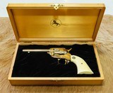 Colt 22LR Frontier Scout Revolver CA Gold Rush - 1 of 9