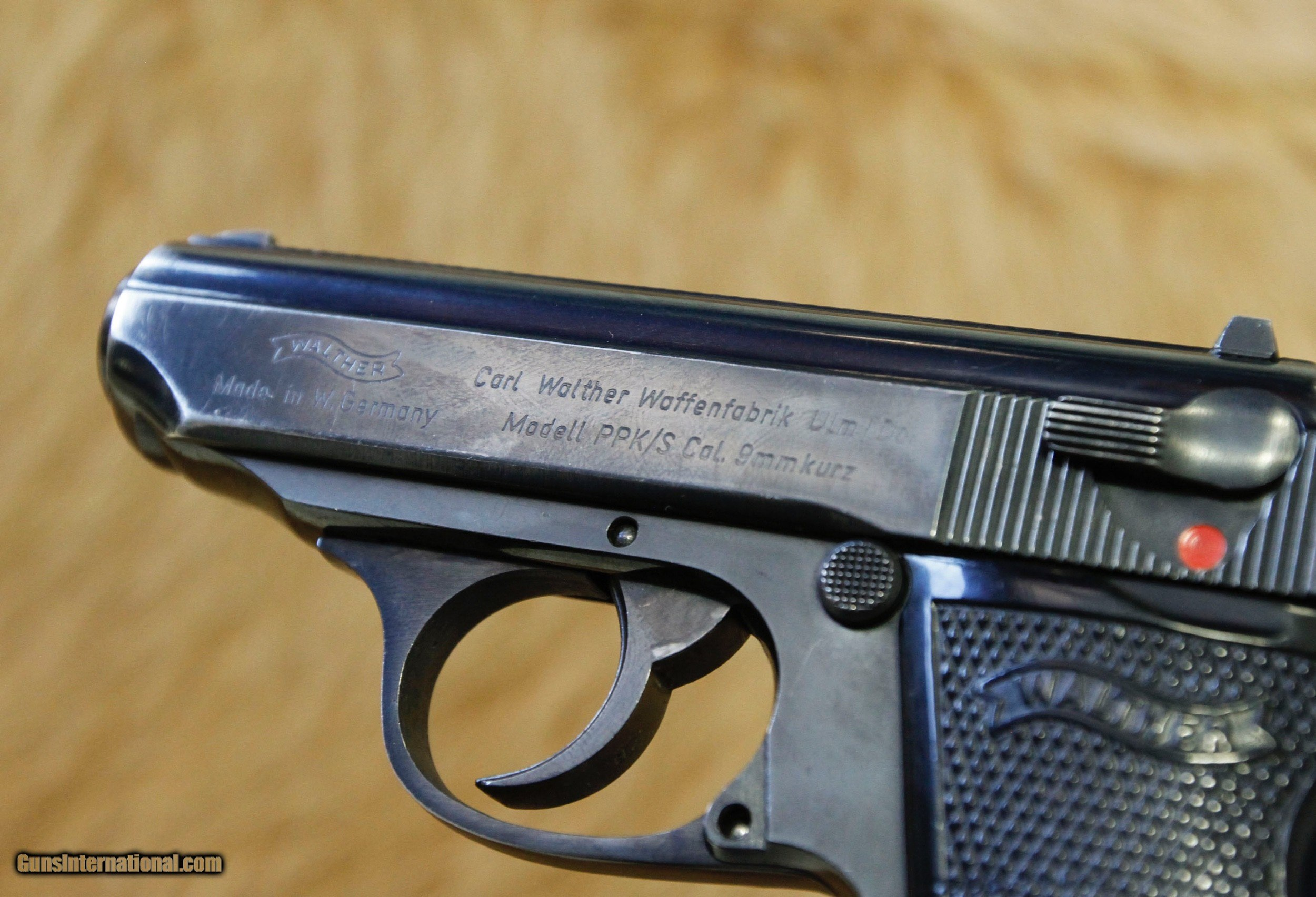 Walther PPK/S  380 ACP/9mm for sale