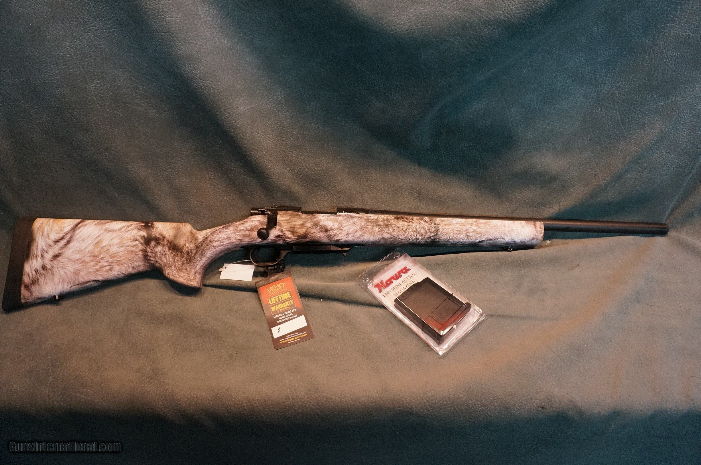 Legacy Arms Howa 1500 Mini Mauser Yote Camo stock 223 ON SALE!!