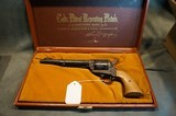 """Colt SAA 45LC """"D"""" Factory Engraved"""