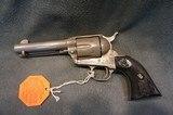"""Colt SAA 45LC 4 3/4"""" rare factory Watts Nickel finish NIB consecutive # gun set available - 5 of 8"""