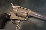 """Colt SAA 45LC 4 3/4"""" rare factory Watts Nickel finish NIB consecutive # gun set available - 4 of 8"""