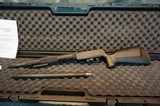 Volquartsen Fusion Take Down Rifle with both 17HMR and 22Mag barrels.NIB.On SALE!