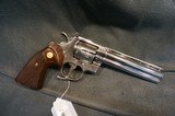 "Colt Python 357Mag 6"" Nickel - 1 of 4"