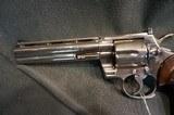 "Colt Python 357Mag 6"" Nickel - 4 of 4"