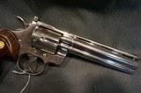 "Colt Python 357Mag 6"" Nickel - 2 of 4"