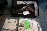 Standard Arms 1911 Engraved and Casecolored NIB