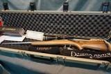 Dakota Arms Sporter Varminter 223 w/Leupold scope and case New