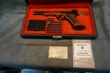 Belgium Browning Medalist 22LR w/case and accessories - 1 of 7