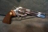 "Colt Python 357Mag 6"" Bright Stainless ANIB - 5 of 7"