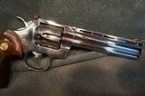 "Colt Python 357Mag 6"" Bright Stainless ANIB - 6 of 7"