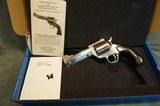 "Freedom Arms M1997 44Sp 4 1/4"" octagon bbl,round butt NIB"