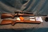 Anschutz 1517D HB 17HMR Classic Beavertail w/extra stock