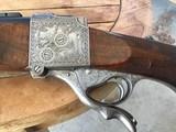 1947 Jeffrey English Farquharson Falling Block Rifle - 270/348 - 4 of 15