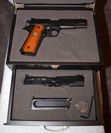 Colt Gold Cup with Colt 22 Conversion in Custom Case