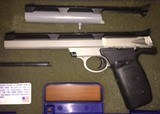 Smith & Wesson 22 S With Two Barrels