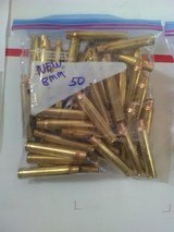 8mm Remington mag new brass - 1 of 2