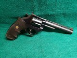 Colt - TROOPER MK V. BLUED. DOUBLE ACTION. 6 INCH VENT RIB BARREL. PACHMAYR GRIPS. NICE BORE! MFG. IN 1985 - .357 MAGNUM