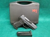 Heckler & Koch - MODEL HK 45C. VARIANT 1. COMPACT..IN FACTORY HARD CASE .W-2 MAGAZINES. MINTY BORE! - .45 ACP