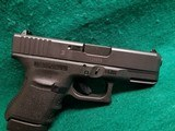Glock - MODEL 30S. BLACK. 3.75 INCH BARREL. W-FACTORY CASE AND ONE 10 ROUND MAGAZINE. NEARLY NEW! - 45 ACP - 17 of 18
