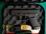 Glock - MODEL 30S. BLACK. 3.75 INCH BARREL. W-FACTORY CASE AND ONE 10 ROUND MAGAZINE. NEARLY NEW! - 45 ACP - 1 of 18