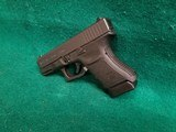 Glock - MODEL 30S. BLACK. 3.75 INCH BARREL. W-FACTORY CASE AND ONE 10 ROUND MAGAZINE. NEARLY NEW! - 45 ACP - 7 of 18