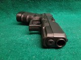 Glock - MODEL 30S. BLACK. 3.75 INCH BARREL. W-FACTORY CASE AND ONE 10 ROUND MAGAZINE. NEARLY NEW! - 45 ACP - 13 of 18