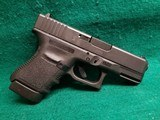 Glock - MODEL 30S. BLACK. 3.75 INCH BARREL. W-FACTORY CASE AND ONE 10 ROUND MAGAZINE. NEARLY NEW! - 45 ACP - 2 of 18