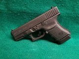 Glock - MODEL 30S. BLACK. 3.75 INCH BARREL. W-FACTORY CASE AND ONE 10 ROUND MAGAZINE. NEARLY NEW! - 45 ACP - 5 of 18