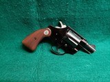 COLT - COBRA. FIRST MODEL. BLUED. 2 INCH BARREL. MINTY BORE. MFG. IN 1970. COLLECTIBLE VINTAGE REVOLVER! - .38 SPECIAL