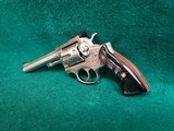 RUGER - SECURITY SIX. STAINLESS. DOUBLE ACTION. 6 INCH BARREL. ENGRAVED BY CLINT FINLEY.GORGEOUS! MFG. IN 1977 - .357 MAGNUM - 6 of 21