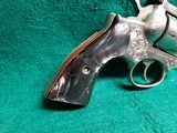 RUGER - SECURITY SIX. STAINLESS. DOUBLE ACTION. 6 INCH BARREL. ENGRAVED BY CLINT FINLEY.GORGEOUS! MFG. IN 1977 - .357 MAGNUM - 7 of 21