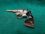 RUGER - SECURITY SIX. STAINLESS. DOUBLE ACTION. 6 INCH BARREL. ENGRAVED BY CLINT FINLEY.GORGEOUS! MFG. IN 1977 - .357 MAGNUM - 18 of 21