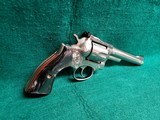 RUGER - SECURITY SIX. STAINLESS. DOUBLE ACTION. 6 INCH BARREL. ENGRAVED BY CLINT FINLEY.GORGEOUS! MFG. IN 1977 - .357 MAGNUM - 2 of 21