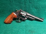 Smith & Wesson - MODEL 28-2 HIGHWAY PATROLMAN. PINNED AND RECESSED. N-FRAME. BLUED. 6 INCH BARREL. EXCELLENT CONDITION! MFG. CIRCA 1976 - .357 Magnum
