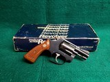 Smith & Wesson - MODEL 36 CHIEFS SPECIAL - BLUED 1.75 INCH BARREL DOUBLE ACTION 5-SHOT. W-BOX AND PAPERS. W-MINTY BORE! MFG. IN 1982- .38 SPECIAL