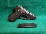 Astra - CONSTABLE II. BLUED. DA/SA. 3.5 INCH BARREL. W-2 MAGS. NEAR MINT IN ORIGINAL BOX! MFG. IN 1985 - 380 ACP