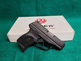 """RUGER - LC9. 3"""" BARREL. SINGLE STACK CARRY PISTOL. IN ORIGINAL BOX. W-ONE MAGAZINE & OWNERS MANUAL. EXCELLENT CONDITION! - 9MM LUGER"""