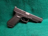 "GLOCK - 35GEN4 MOS. 5"" GS AFTERMARKET BARREL AND GUIDE ROD. TRIJICON HD FRONT SIGHT. W-ONE MAGAZINE. NEAR MINT! - .40 S&W"