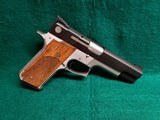 """smith & wesson - model 745. single action. target pistol. 5"""" barrel. w-one mag. great trigger! nice bore! - .45 acp"""