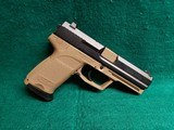 "HECKLER & KOCH - USP. VARIANT 7. LEM TRIGGER. FDE FRAME. 4"" BBL. W-ONE 13RD MAG. NIGHT SIGHTS. MINTY BORE! - .40 S&W"