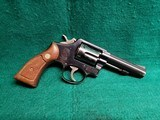 "SMITH & WESSON - MODEL 10-6. BLUED. 4"" PINNED HEAVY BARREL. NICE VINTAGE REVOLVER. MFG. CIRCA 1970'S - .38 SPECIAL"