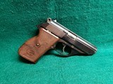 ASTRA - CONSTABLE. DOUBLE ACTION W-DECOCKER. BLUED. 3.5 INCH BARREL. NO MAGAZINE. MINTY BORE! VERY NICE! MFG. IN 1971 - .32 Auto (7.65 Browning
