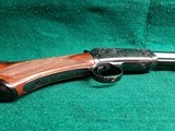 """WINCHESTER - MODEL 1890. DELUXE. 24"""" OCTAGON BBL. ENGRAVED BY ANGELO BEE IN FACTORY #8 PATTERN. VERY GORGEOUS RIFLE! MFG. IN 1926 - .22 LR - 13 of 22"""