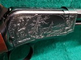 """WINCHESTER - MODEL 1890. DELUXE. 24"""" OCTAGON BBL. ENGRAVED BY ANGELO BEE IN FACTORY #8 PATTERN. VERY GORGEOUS RIFLE! MFG. IN 1926 - .22 LR - 8 of 22"""